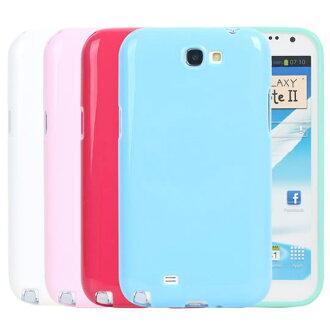 Ultimate- Samsung Note2(N7100) 亮麗全彩軟質三星手機外殼防摔果凍套後背蓋 保護殼 手機殼