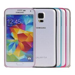 Ultimate- Samsung S5 (i9600) 簡約輕量圓弧海馬扣金屬保護邊框 輕薄金屬保護邊框 金屬手機邊框 聖誕交換禮物