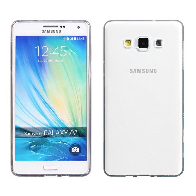 Ultimate- Samsung A7 清新全透軟質手機果凍套防摔背蓋 保護殼 三星A7手機殼 TPU清水套