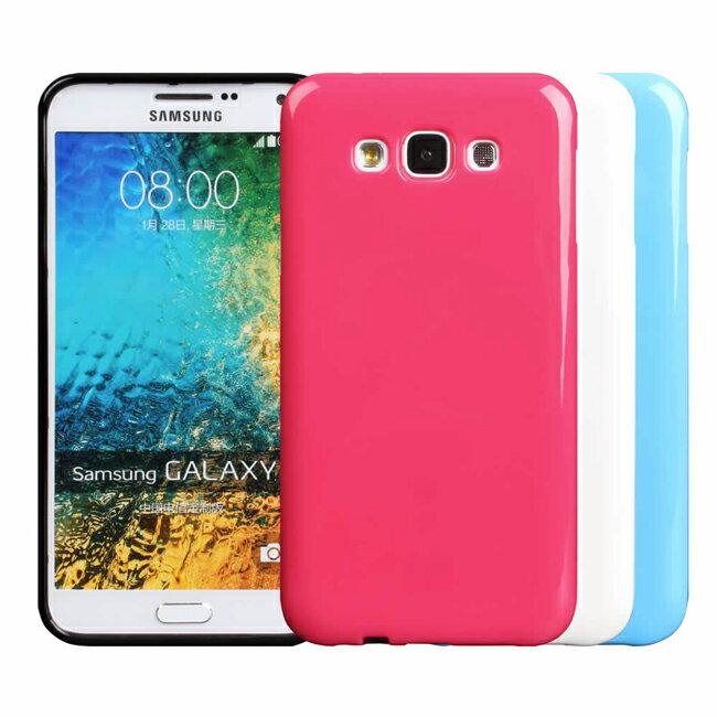 Ultimate- Samsung E5 亮麗全彩軟質保護殼 手機背蓋 三星E5手機殼 彩色果凍TPU清水套