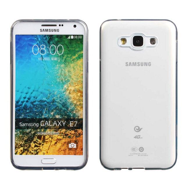 Ultimate- Samsung E7 (E700) 清新透軟質 手機果凍套防摔背蓋 三星E7保護殼 手機殼 清水套