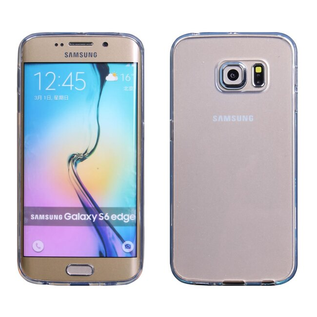 Ultimate- Samsung S6 Edge 清新全透軟質三星手機果凍套防摔背蓋 保護殼 手機殼 清水套