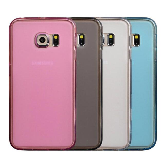 Ultimate- Samsung S6 Edge 輕量氣質霧面軟質手機防摔果凍套背蓋 保護殼 三星手機殼  保護套