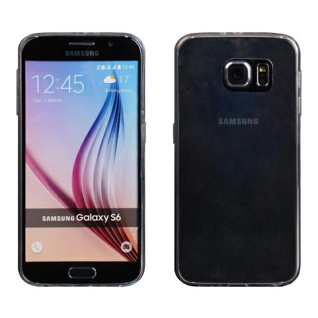 Ultimate- Samsung S6 (G9208) 超薄全透點紋軟質手機外殼防摔後背蓋保護套 軟殼 保護殼 手機殼