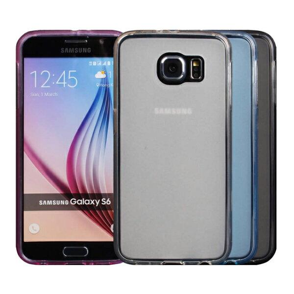 亞特米:Ultimate-SamsungS6(G920)輕量氣質霧面軟質手機防摔果凍套背蓋保護殼三星手機殼保護套