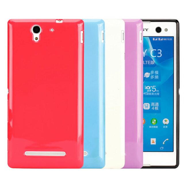 Ultimate- SONY Xperia C3 亮麗全彩軟質保護殼 手機背蓋 手機殼 亮麗全彩 清水套 果凍軟質