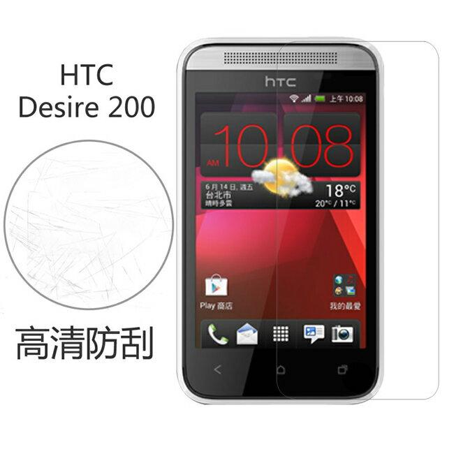 Ultimate- HTC Desire 200 高清防刮/霧面抗指紋亮手機螢幕超薄保護貼膜 手機膜
