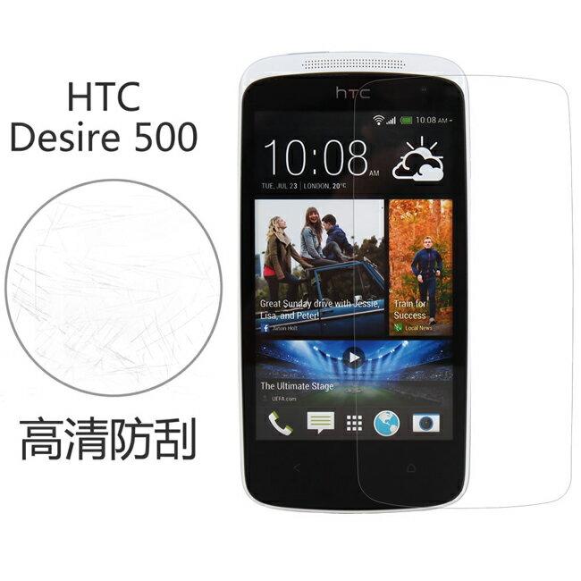 Ultimate- HTC Desire 500 高清防刮/霧面抗指紋手機螢幕超薄保護貼膜 手機膜