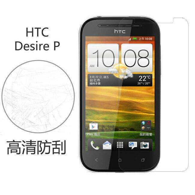 Ultimate- HTC Desire P 高清防刮/霧面抗指紋手機螢幕超薄保護貼膜 手機膜