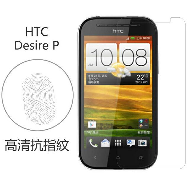 Ultimate- HTC Desire P 高清抗指紋防疏油汙灰塵手機螢幕超薄保護貼膜 手機膜