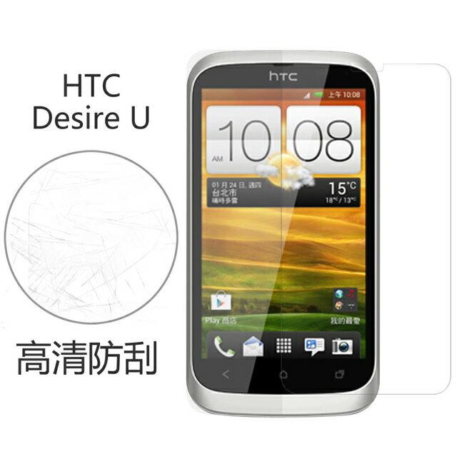 Ultimate- HTC Desire U 高清防刮/霧面抗指紋 防刮保護貼 超薄螢幕膜 手機膜 保貼