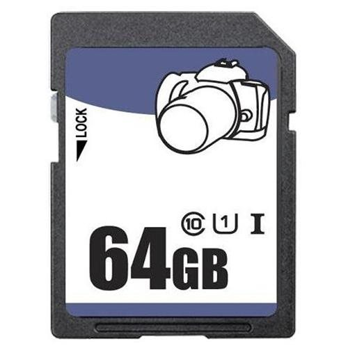 3C Pro 64GB 64G SD SDHC SDXC Secure Digital Extended Capacity Card UHS-1 Class 10