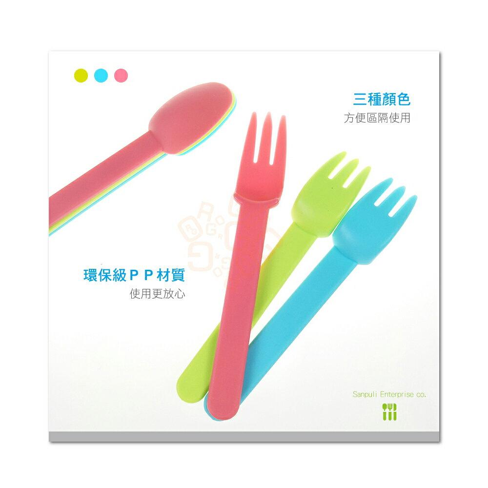 ORG《SD1582a》台灣製MIT~3組入 兒童餐具 露營 旅行 旅遊 野餐 環保餐具 環保湯匙 叉匙組 環保野餐叉匙 7