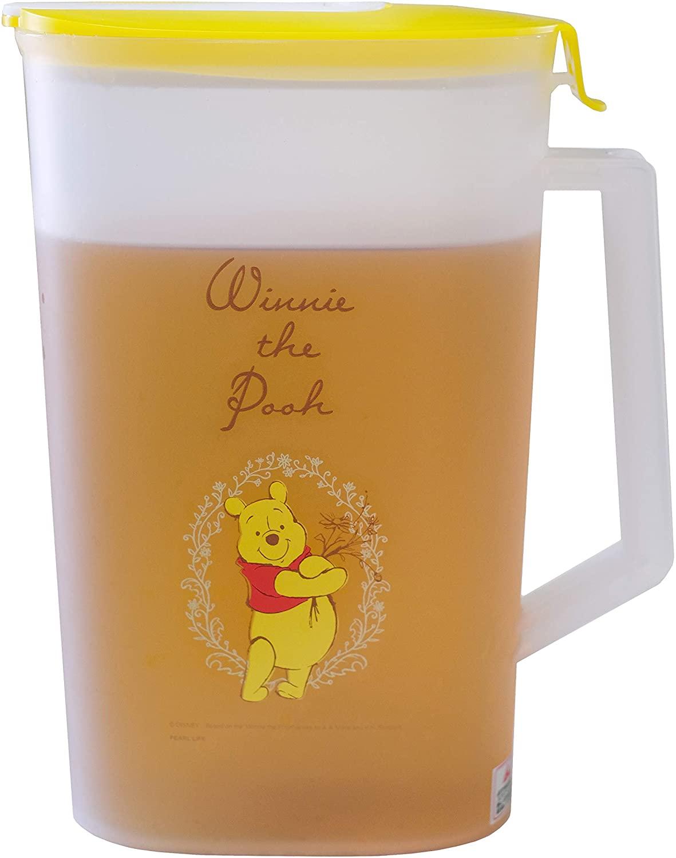 小熊維尼Winnie the Pooh 塑膠冷水壺2L,水瓶/水壺/水罐/塑膠冷水壺/冷水壺/濾水壺/桌上壺,X射線【C891059】