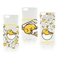 蛋黃哥手機殼及配件推薦到【Sanrio】iPhone 6 Plus/6s Plus 蛋黃哥彩繪透明保護軟套-懶懶系列就在Miravivi推薦蛋黃哥手機殼及配件