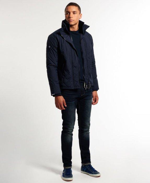 [男款] 英國代購 極度乾燥 Superdry Quilted Arctic Windcheater 男士 絎縫防風衣夾克 海軍藍 2