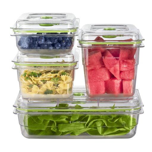 FoodSaver Vacuum Sealed Fresh Container Set - 4 Piece