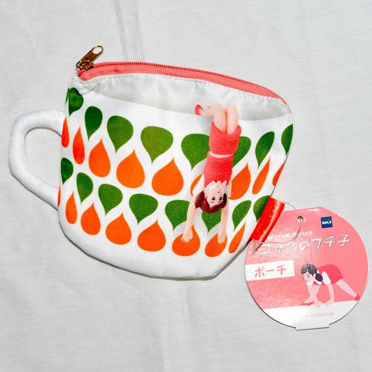 杯緣少女 拉鍊零錢包 化妝包 多功能小包 日本正版商品