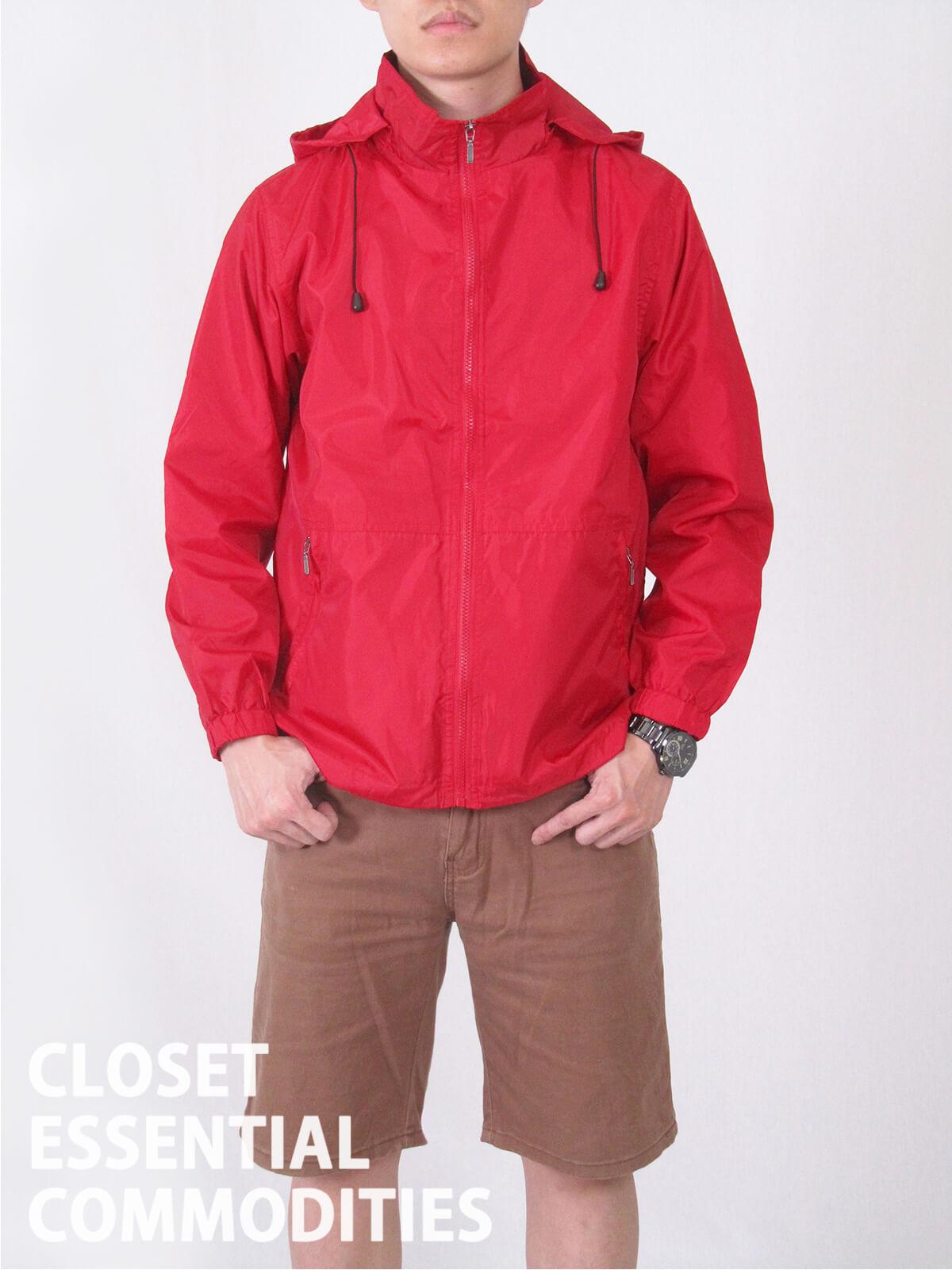 加大尺碼抗紫外線防曬薄外套 防風防潑水休閒外套 抗UV機能布料素面外套 遮陽外套 附帽可拆 風衣外套 輕量薄外套 ANTI-UV THIN COAT JACKET (321-8816-01)黑色、(321-8816-02)深藍色、(321-8816-03)紅色 M L XL 2L 3L 4L 5L(胸圍:45~57英吋) [實體店面保障] sun-e 4
