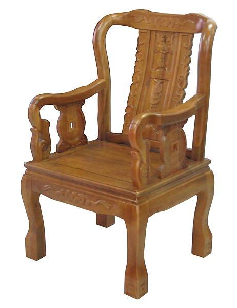 ~尚品 ~702~15 樟木實木太師椅主人椅辦公椅