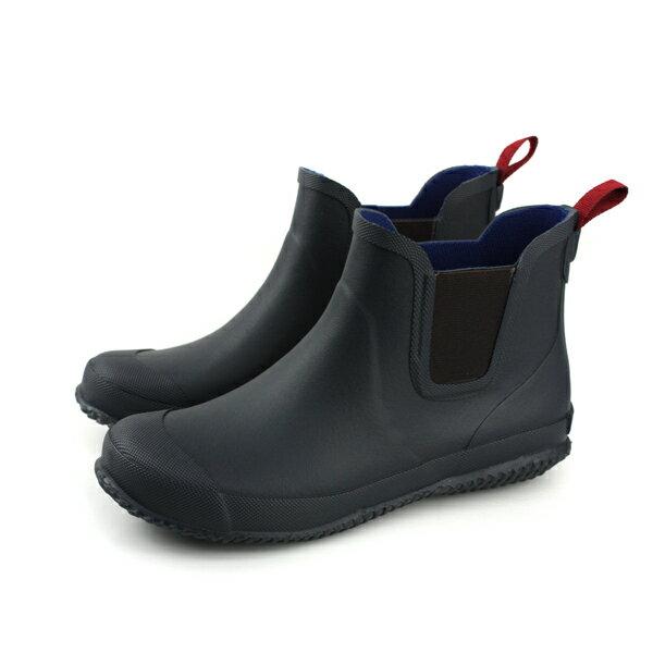 Moonstar 雨靴 雨鞋 膠底 防滑 防水 深藍色 大童 MSRBL01R5 no150