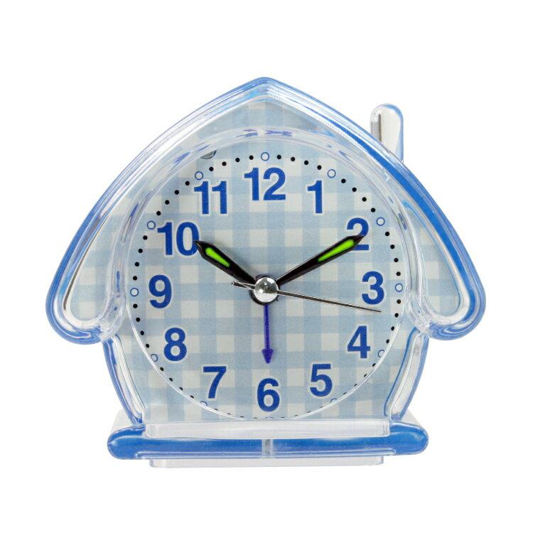TB-710 房屋造型鬧鐘 時鐘 鬧鐘 掛鐘 壁鐘 LCD電子鐘【迪特軍】