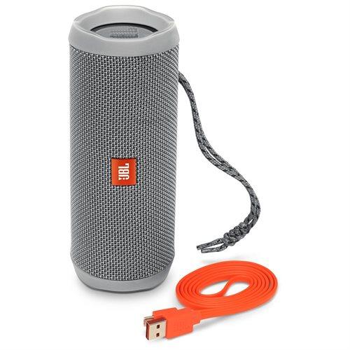 Flip 4 Waterproof Portable Bluetooth Speaker (Gray) 2