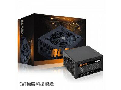 YAMAALPHA(阿爾發)400W80+銅牌DCtoDC電源供應器POWER電腦電源【迪特軍】