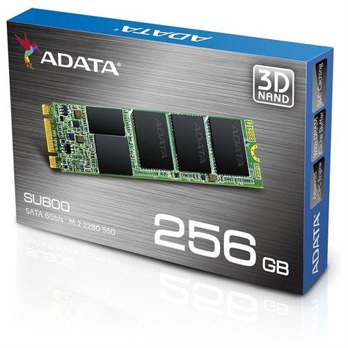 ADATA Ultimate SU800 3D NAND M.2 2280 Internal SSD 256GB (ASU800NS38-256GT-C) 1