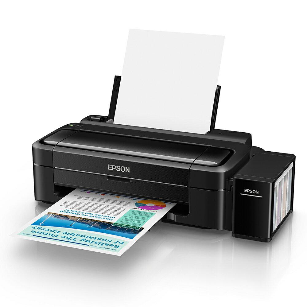 【原廠活動】EPSON L310 高速單功能連續供墨印表機*L120/L220/L310/L360/L365/L455/L565/L655