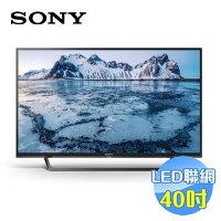 SONY 索尼推薦到【滿3千,15%點數回饋(1%=1元)】SONY 40吋高畫質液晶電視 KDL-40W660E 尾牙 禮品