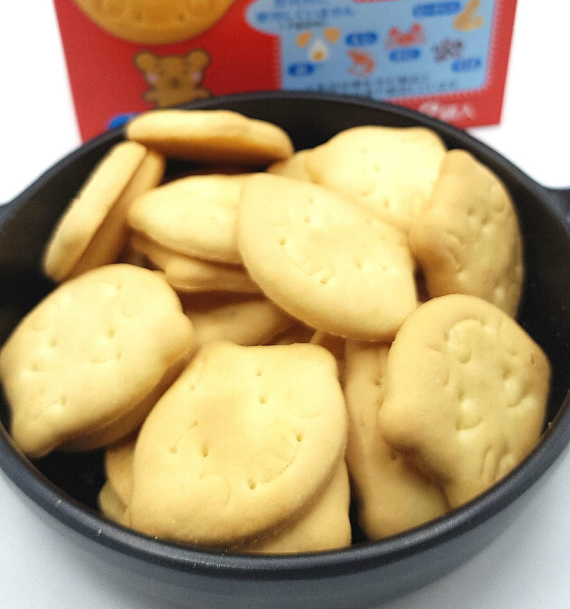 《Chara 微百貨》日本 森永 寶寶 幼兒 嬰兒 營養 點心 威化酥 蛋酥 小饅頭 餅乾 七個月以上 副食品 3