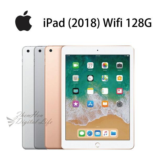 [12期0利率]APPLEiPad(2018)9.7吋WiFi版128G-銀金灰