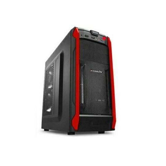 限宅配 i-COOL TW 無極戰士Q6電腦機殼 電腦周邊 電腦零件 風扇 散熱器 機殼 桌上型電腦