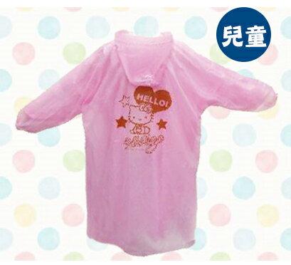X射線【C656840】Hello Kitty 兒童輕便雨衣,凱蒂貓/雨具/隨身攜帶/輕便雨衣
