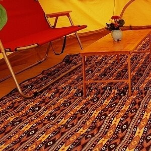 美麗大街【107051650】400x400圓形帳篷鐘形帳專用圓形地墊