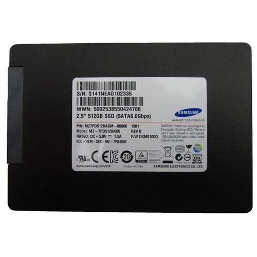 "Samsung SSD 840 Pro 512GB 512G SATA III 2.5"" Internal Solid State Drive Bulk MZ-7PD512HAGM + USB 3.0 Adapter and Cable Bulk OEM Package 0"
