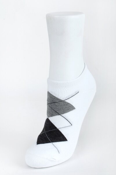 【金‧安德森】女版菱格腳踝襪