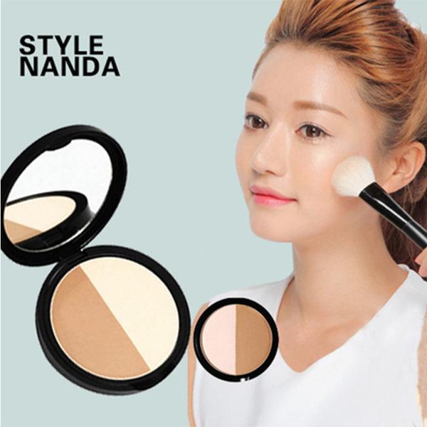 <br/><br/> 韓國 3CE(3CONCEPT EYES) MAGIC立體妝感雙色修容粉餅11g【庫奇小舖】<br/><br/>