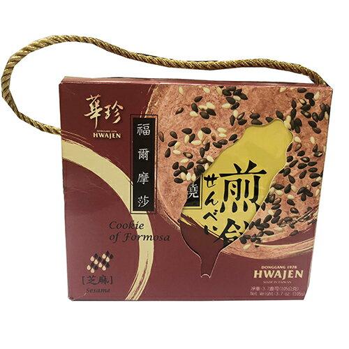 愛買線上購物 華珍手燒芝麻煎餅 105g【愛買】