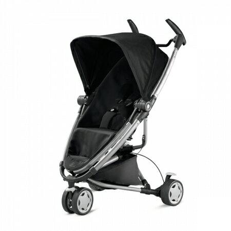 【淘氣寶寶】 荷蘭 Quinny Zapp Xtra2-單推車(不含提籃、雨罩、結合器)【銀管支架黑】