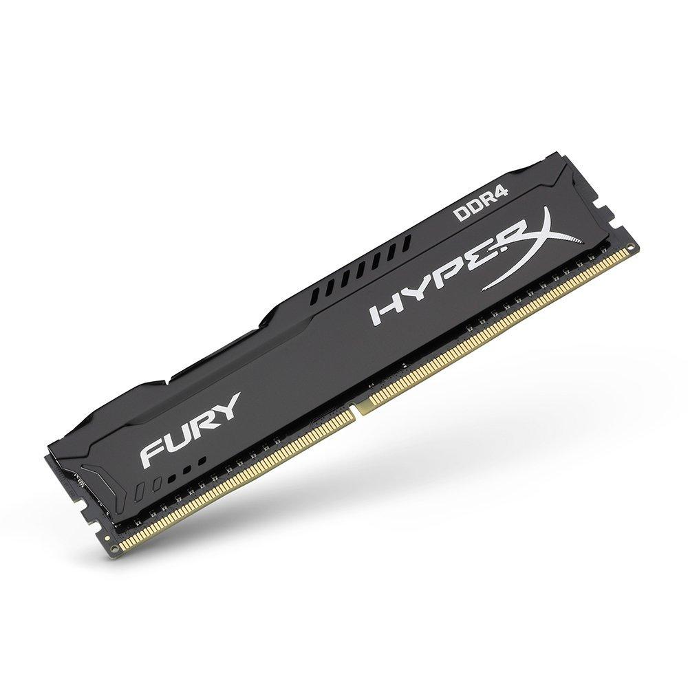【點數最高16%】Kingston 金士頓 HyperX FURY DDR4-2400 8GB 桌上型超頻記憶體 (HX424C15FB2/8)(0740617256550)※上限1500點