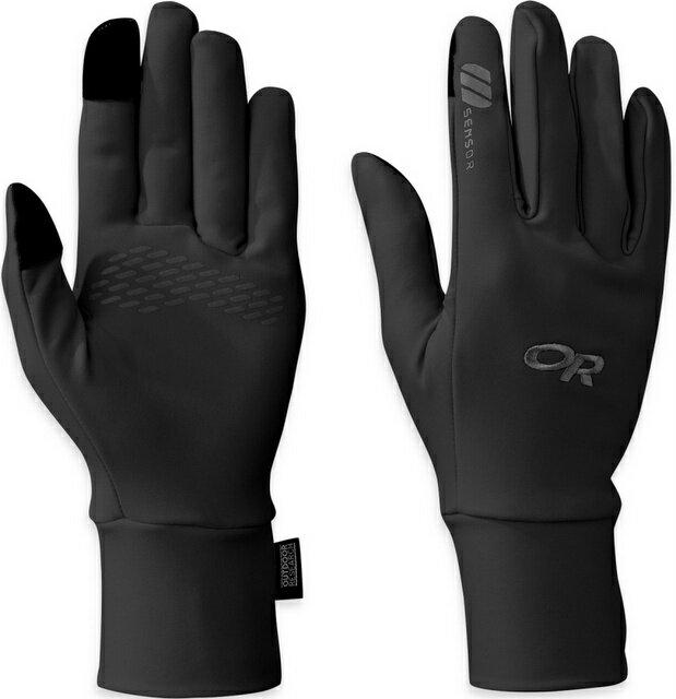 【【蘋果戶外】】Outdoor Research OR243214 0001 黑 女 PL Base Sensor Gloves 登山保暖手套 可觸控內手套