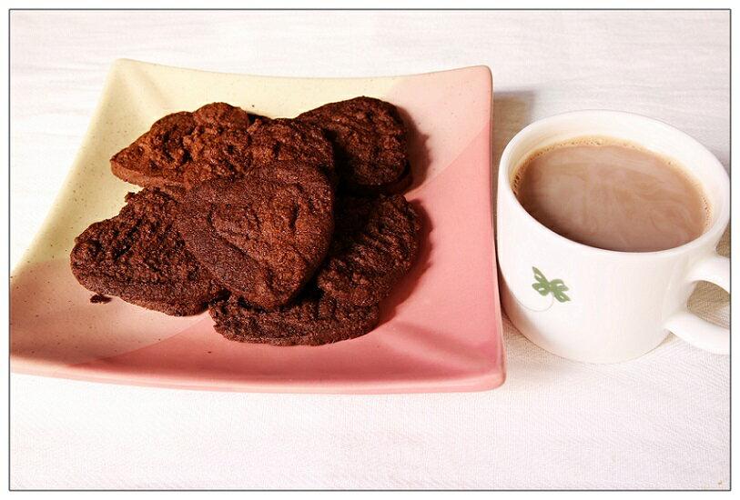 **全素**手工餅乾-原味二包+巧克力口味一包 1