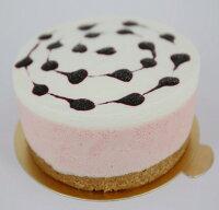 (葷)草莓慕斯+藍莓夾心6吋 0