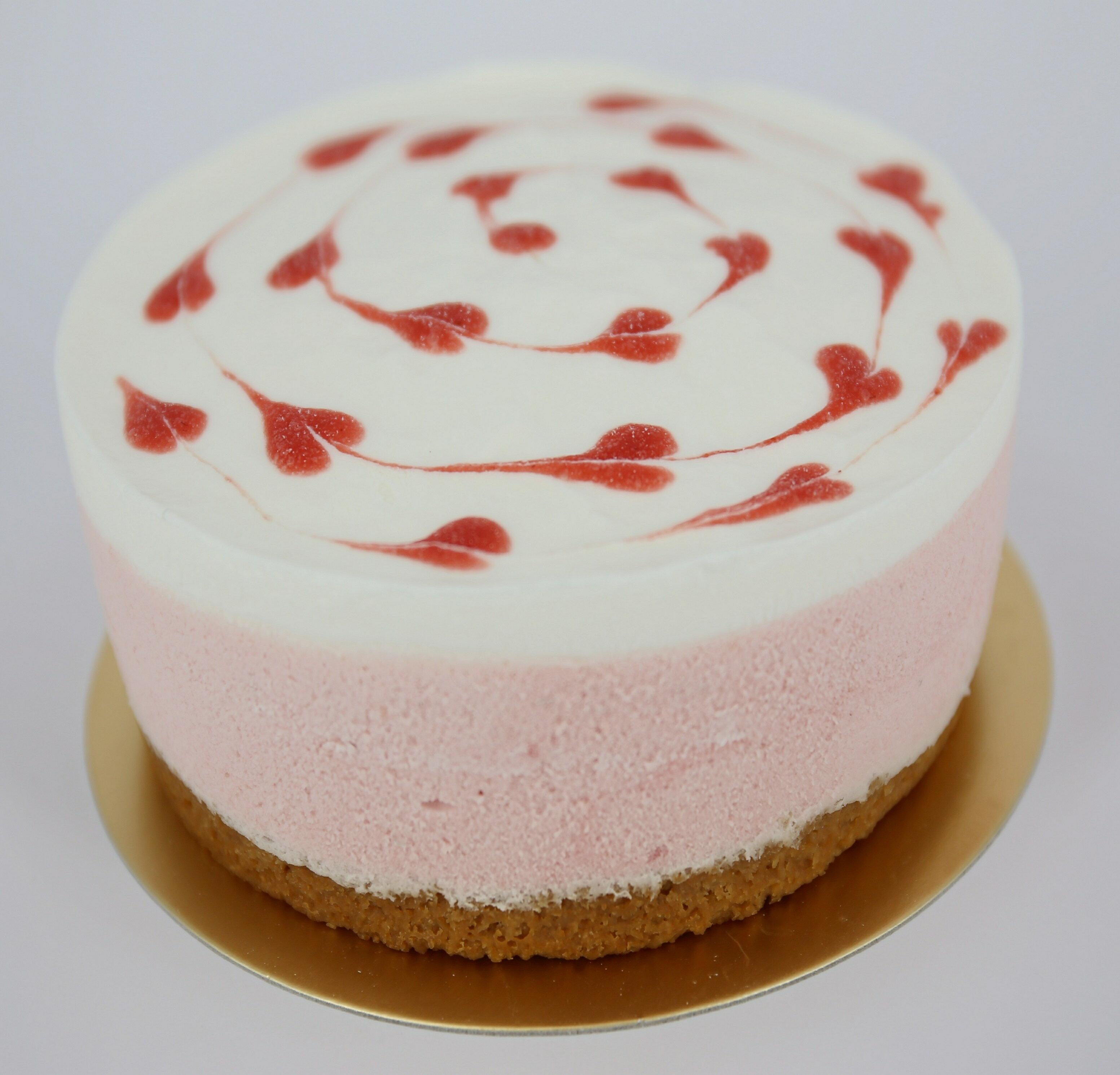 (葷)草莓慕斯+草莓夾心6吋 0