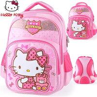 兒童節禮物Children's Day到正版 Hello Kitty  凱蒂貓 兒童書包 小學生後背包 HK3285
