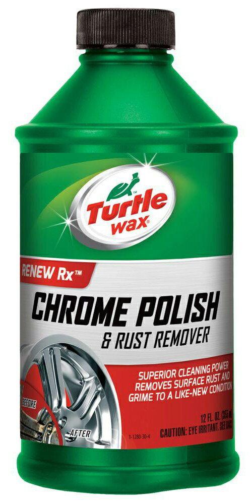 Turtle Wax美國龜牌 Chrome Polish電鍍除鏽拋光劑 #1280