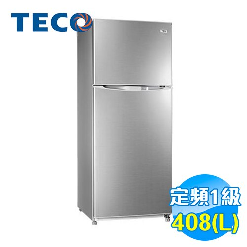 東元 TECO 408公升 雙門 定頻冰箱 R4151N 【送標準安裝】