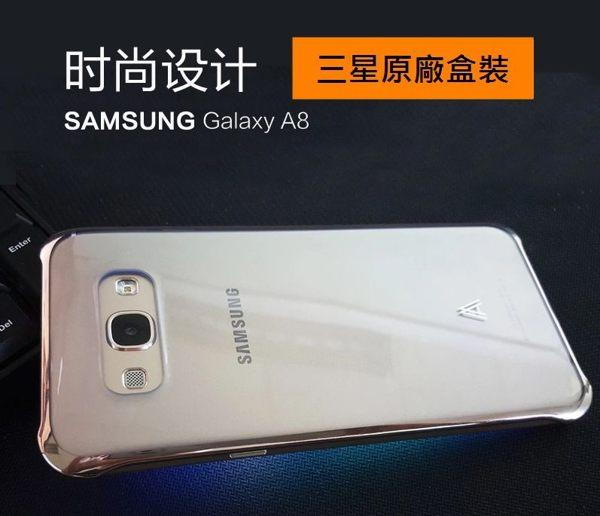 SamsungGalaxyA8【A8原廠透明背蓋、後蓋、保護殼】三星原廠盒裝公司貨